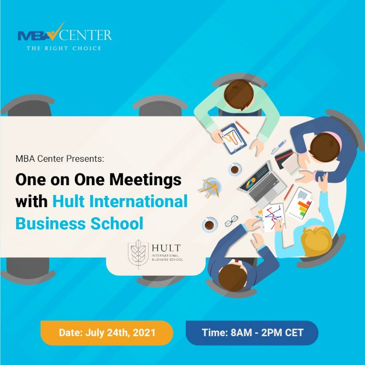 ONE-ON-ONE MEETINGS WITH HULT INTERNATIONAL BUSINESS SCHOOL